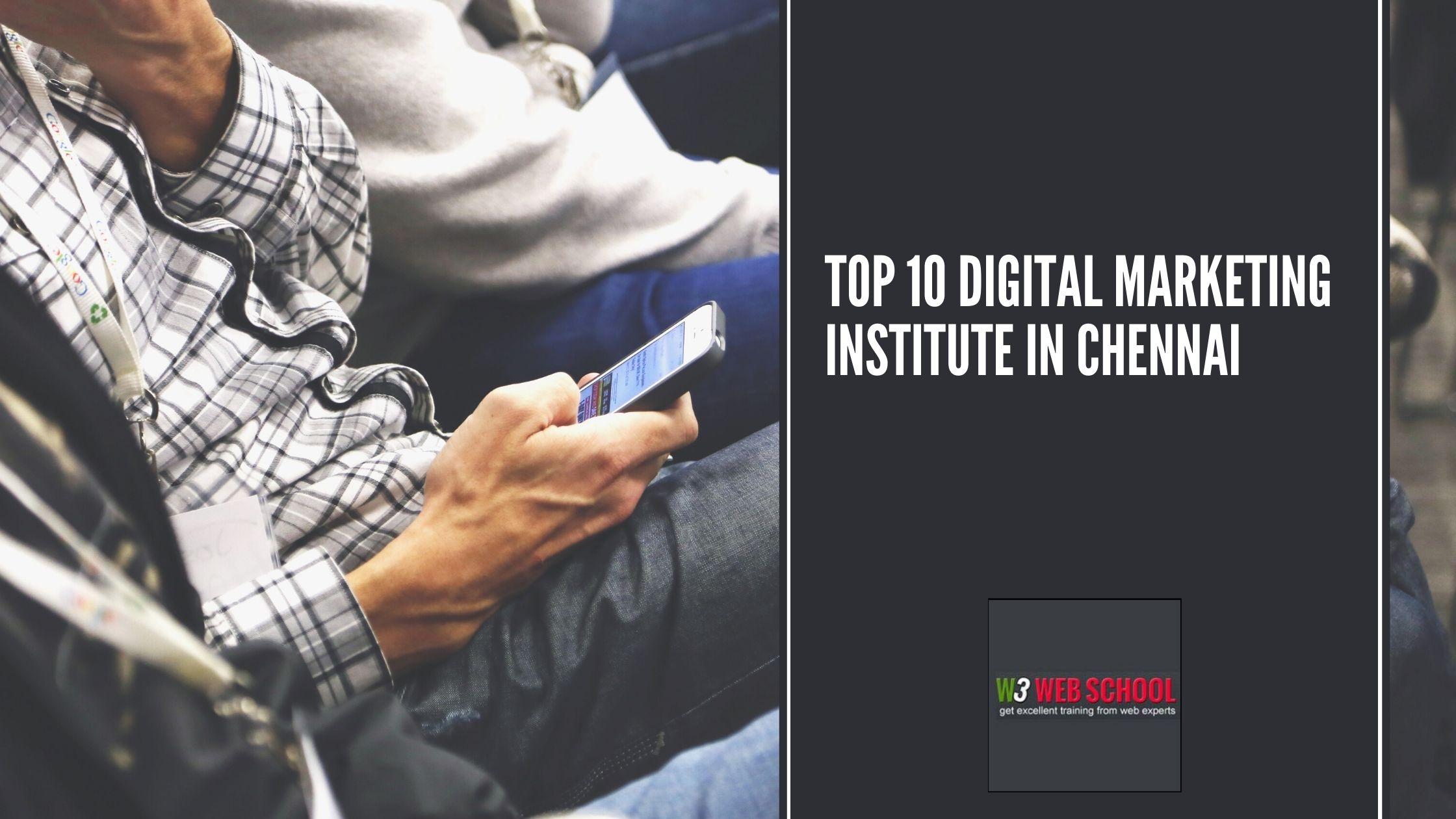 Top 10 Digital Marketing Institute in Chennai
