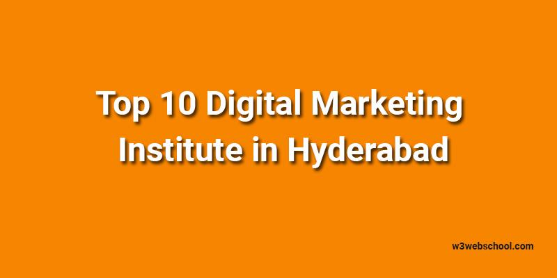 Digital Marketing Institute in Hyderabad
