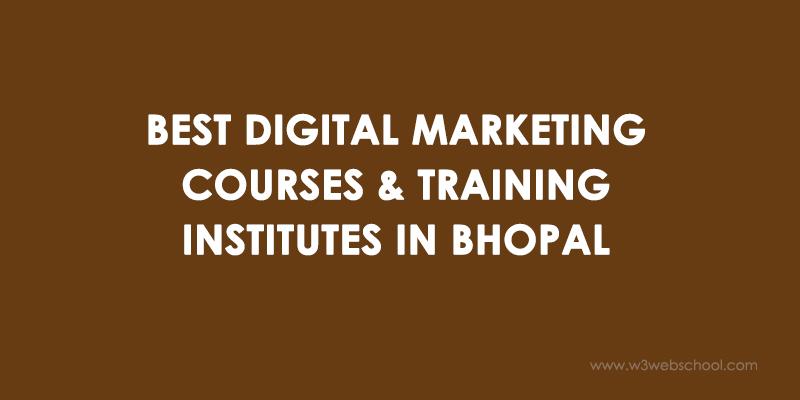 Digital Marketing Institutes in Bhopal