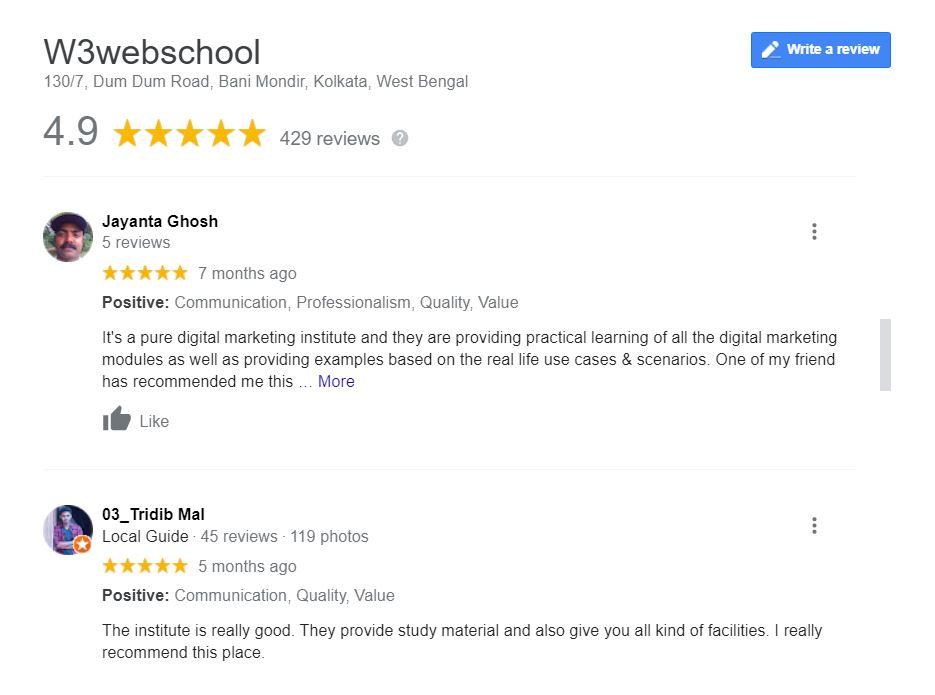 w3webschool Reviews